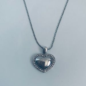 Jewelry - Sterling Silver Heart Necklace